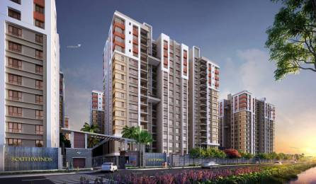 1357 sqft, 2 bhk Apartment in Builder Southwinds E M Bypass, Kolkata at Rs. 45.8666 Lacs
