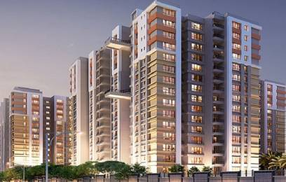 1359 sqft, 2 bhk Apartment in Builder SOUTH WINDS EM Bypass South East, Kolkata at Rs. 47.7689 Lacs