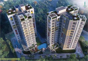 1100 sqft, 2 bhk Apartment in Bhawani Twin Towers Howrah, Kolkata at Rs. 57.2550 Lacs