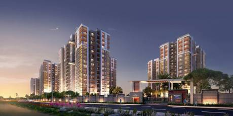922 sqft, 2 bhk Apartment in Builder Southwinds E M Bypass, Kolkata at Rs. 34.6175 Lacs