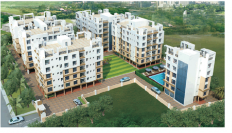 972 sqft, 3 bhk Apartment in Swagat Skyline Rajarhat, Kolkata at Rs. 30.1320 Lacs