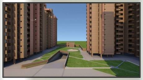 1376 sqft, 3 bhk Apartment in Gala Marigold Bopal, Ahmedabad at Rs. 45.4500 Lacs