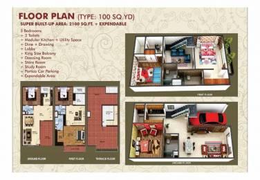 1450 sqft, 3 bhk Villa in Builder Noval Valley Villa Noida Extension Sector 16B Noida Extension, Greater Noida at Rs. 41.3250 Lacs