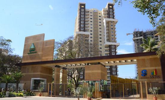 1890 sqft, 3 bhk Apartment in Salarpuria Sattva Greenage Bommanahalli, Bangalore at Rs. 40000