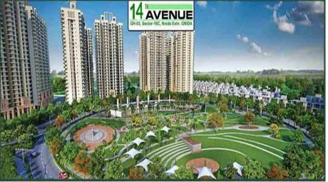 1365 sqft, 3 bhk Apartment in Gaursons 14th Avenue Sector 16C Noida Extension, Greater Noida at Rs. 9500