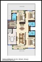 1651 sqft, 3 bhk BuilderFloor in Builder Omaxe metro city Kalli Pashchim, Lucknow at Rs. 42.5000 Lacs