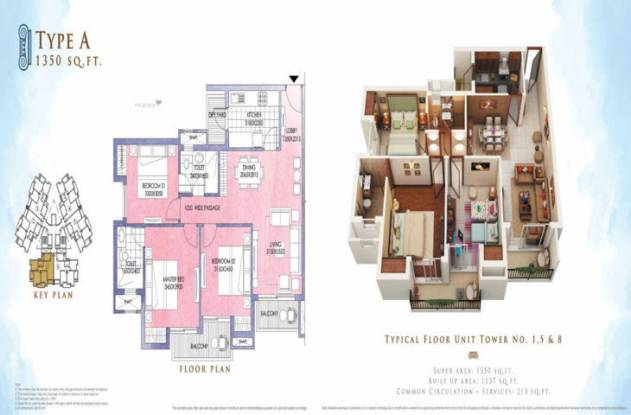 1150 sqft, 2 bhk Apartment in ATS Allure Sector 22D Yamuna Expressway, Noida at Rs. 34.5000 Lacs