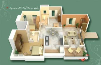 1050 sqft, 2 bhk Apartment in GK Rose County Pimple Saudagar, Pune at Rs. 62.0000 Lacs