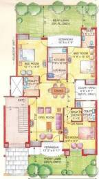 1510 sqft, 3 bhk Apartment in Eldeco Green Meadows PI, Greater Noida at Rs. 78.0000 Lacs