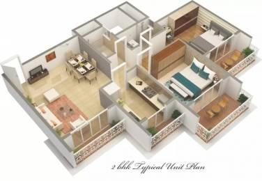 1300 sqft, 2 bhk Apartment in Varsha Balaji Heritage Kharghar, Mumbai at Rs. 1.6400 Cr