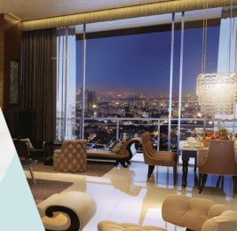 1275 sqft, 3 bhk Apartment in Omkar The BLISS Collection Malad East, Mumbai at Rs. 2.3600 Cr