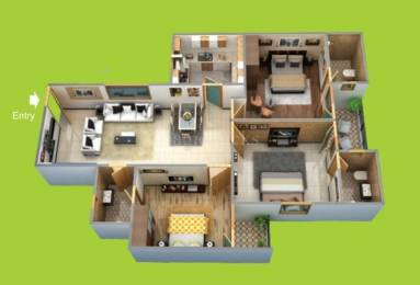 1520 sqft, 3 bhk Apartment in Builder Project Rai Bareilly road, Lucknow at Rs. 56.6000 Lacs