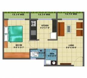 720 sqft, 1 bhk Apartment in Arihant Anaika Taloja, Mumbai at Rs. 35.0000 Lacs