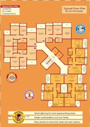 1095 sqft, 3 bhk Apartment in Pranjee Garden City Badlapur East, Mumbai at Rs. 38.3300 Lacs