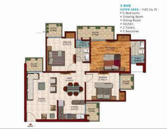 1505 sqft, 3 bhk Apartment in Saviour Saviour Park Mohan Nagar, Ghaziabad at Rs. 60.0000 Lacs