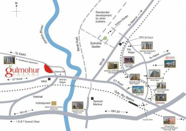 1900 sqft, 3 bhk Apartment in SVP Gulmohur Greens Rajendra Nagar, Ghaziabad at Rs. 15000
