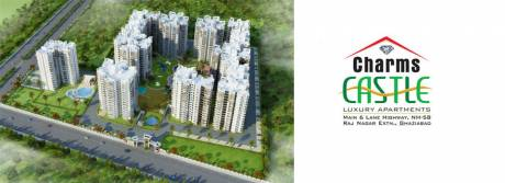 1250 sqft, 2 bhk Apartment in Charms Castle Raj Nagar Extension, Ghaziabad at Rs. 39.0000 Lacs