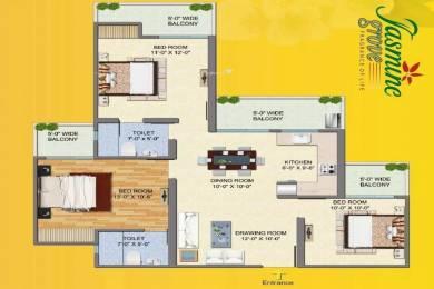 1425 sqft, 3 bhk Apartment in Savfab Jasmine Grove Shastri Nagar, Ghaziabad at Rs. 42.0000 Lacs