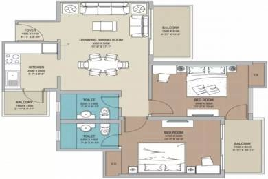 1063 sqft, 2 bhk Apartment in Builder Project Gaur City 2, Greater Noida at Rs. 9000