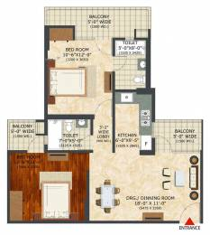 1135 sqft, 2 bhk Apartment in Landcraft Builders Golf Links Phase 2 NH 24 Highway, Ghaziabad at Rs. 31.2100 Lacs