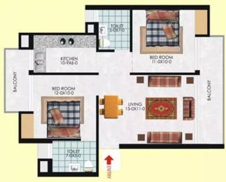 928 sqft, 2 bhk Apartment in Milan Earth Raj Nagar Extension, Ghaziabad at Rs. 27.0000 Lacs