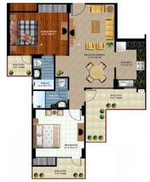 1250 sqft, 2 bhk Apartment in Prateek The Royal Cliff Crossing Republik, Ghaziabad at Rs. 44.0000 Lacs