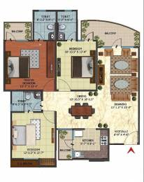 1761 sqft, 3 bhk Apartment in Oxirich Oxirich Avenue Ahinsa Khand 2, Ghaziabad at Rs. 81.0000 Lacs