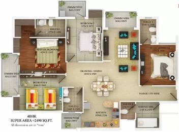 2490 sqft, 4 bhk Apartment in SVP Delhi Heights Dabur Chowk, Ghaziabad at Rs. 1.7900 Cr