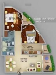 1270 sqft, 2 bhk Apartment in ASGI ASG Apple 7 Crossing Republik, Ghaziabad at Rs. 44.0000 Lacs