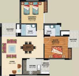 1245 sqft, 2 bhk Apartment in Assotech The Nest Crossing Republik, Ghaziabad at Rs. 40.0000 Lacs