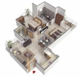 1055 sqft, 2 bhk Apartment in Rishabh Cloud 9 Skylish Towers Shakti Khand, Ghaziabad at Rs. 12500
