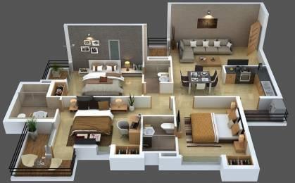1553 sqft, 3 bhk Apartment in Ratan Housing Pearls Sector 16 Noida Extension, Greater Noida at Rs. 46.1300 Lacs