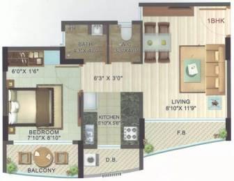 500 sqft, 1 bhk Apartment in JSB Nakshatra Ozone Naigaon East, Mumbai at Rs. 21.0000 Lacs