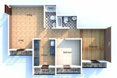 590 sqft, 1 bhk Apartment in Mahavir Kanti Pride Vasai, Mumbai at Rs. 31.0000 Lacs