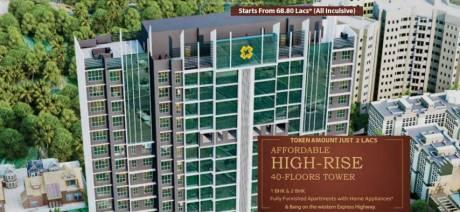 739 sqft, 2 bhk Apartment in Sethia Imperial Avenue Malad East, Mumbai at Rs. 1.0527 Cr