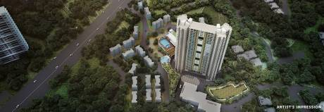 696 sqft, 1 bhk Apartment in Ram Pushpanjali Residency Phase III Thane West, Mumbai at Rs. 57.4816 Lacs