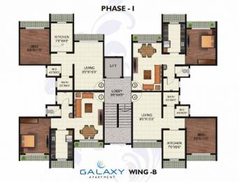 965 sqft, 2 bhk Apartment in Orchid Galaxy Apartment D E Wing Vasai, Mumbai at Rs. 45.8375 Lacs