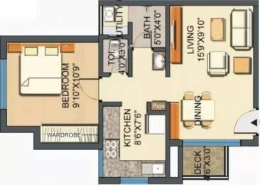 585 sqft, 1 bhk Apartment in Lodha Casa Royale Thane West, Mumbai at Rs. 20000
