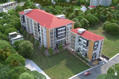 715 sqft, 1 bhk Apartment in Builder Nirmaan Homes Mathura Derebail, Mangalore at Rs. 26.0000 Lacs