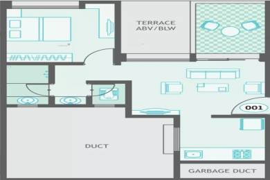 573 sqft, 1 bhk Apartment in Guardian Hill Shire Wagholi, Pune at Rs. 32.0000 Lacs