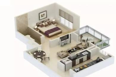 801 sqft, 1 bhk Apartment in Karia Konark Meadows Wagholi, Pune at Rs. 36.0000 Lacs