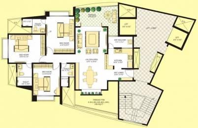 1650 sqft, 3 bhk Apartment in Marvel Citrine Kharadi, Pune at Rs. 1.2500 Cr