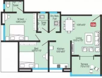 921 sqft, 2 bhk Apartment in Bhandari Greenfield Hadapsar, Pune at Rs. 65.0000 Lacs