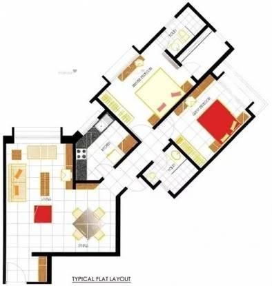 1080 sqft, 2 bhk Apartment in Oberoi Oberoi Park View Kandivali East, Mumbai at Rs. 2.2500 Cr
