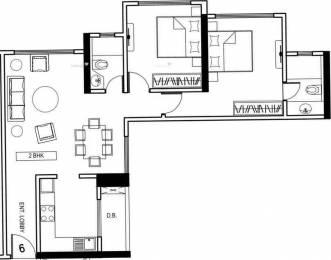 1180 sqft, 2 bhk Apartment in Kanakia Samarpan Exotica Kandivali East, Mumbai at Rs. 1.9500 Cr
