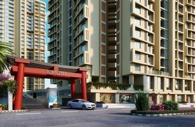 440 sqft, 1 bhk Apartment in Puraniks Tokyo Bay Thane West, Mumbai at Rs. 50.0000 Lacs