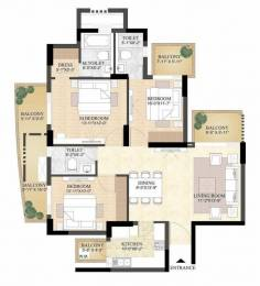 1799 sqft, 3 bhk Apartment in DLF The Primus Sector 82A, Gurgaon at Rs. 1.2500 Cr