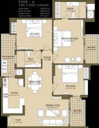 1620 sqft, 3 bhk Apartment in ABA Cleo County Sector 121, Noida at Rs. 1.1000 Cr