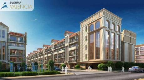 1800 sqft, 3 bhk BuilderFloor in Builder Sushma valencia PR7 Airport Road, Zirakpur at Rs. 56.8000 Lacs
