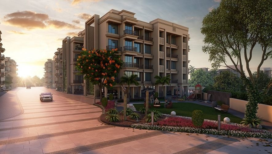 635 sq ft 1BHK 1BHK+1T (635 sq ft) Property By Bhoomi Enterprises In Garima, Taloja